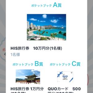 旅行券1万円分が当たったみたいなんですが・・・!?