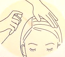 刺激から頭皮を守る