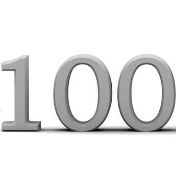 100記事