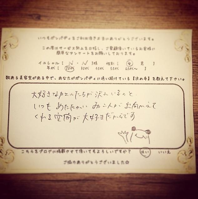 決め手アンケート113
