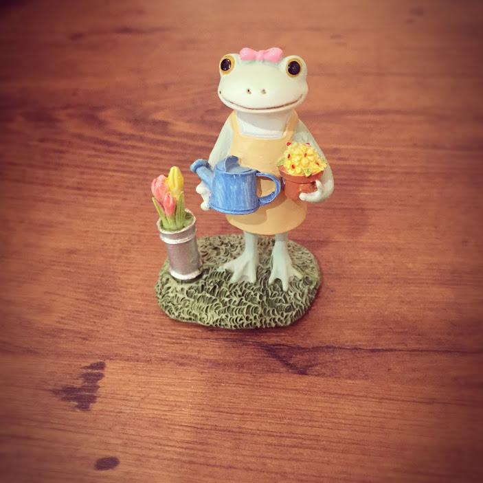 カエルお花屋さん