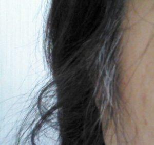 白髪パラパラ