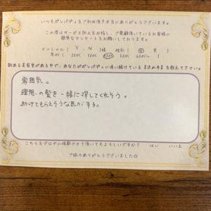 決め手アンケート238